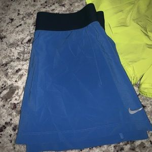 Nike skirt and shorts